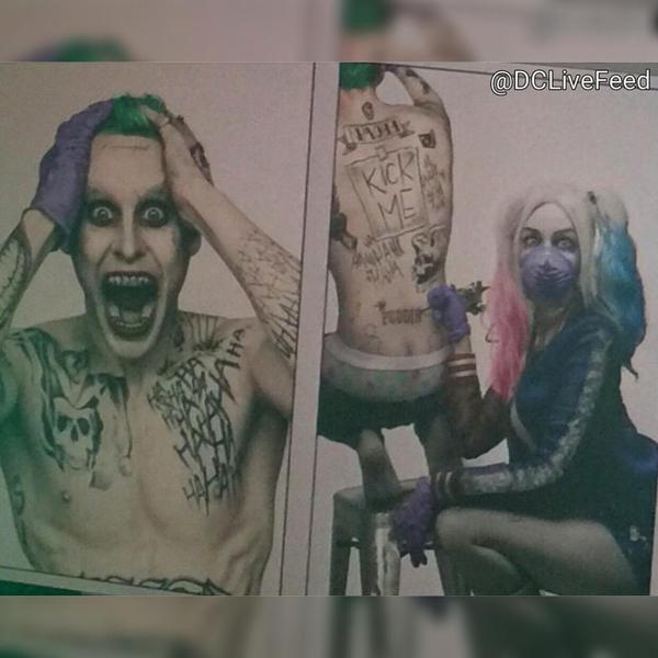 Harley tatúa al Joker