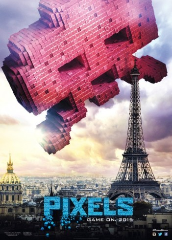 Space invaders pixels