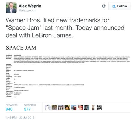 Space Jam 2 Tuit