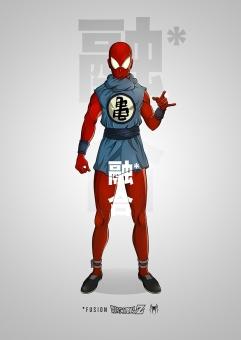 spiderman-dragon-ball-z