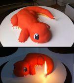 charmander cake