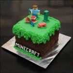 Mincecraft cake