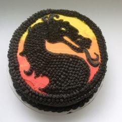 Mortal Kombat Cake