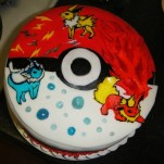 pokemon cake-