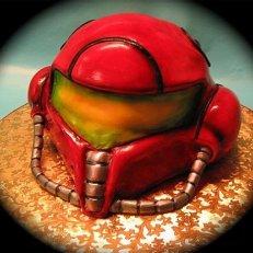 samus aran cake