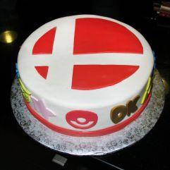 Smash Bros Cake