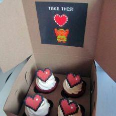 Take one cupcake