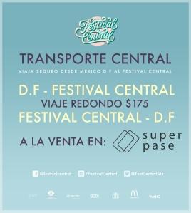 Transporte Festival Central