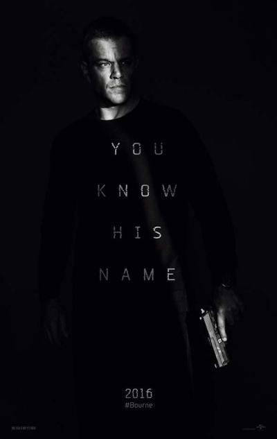 Primer póster de Jason Bourne