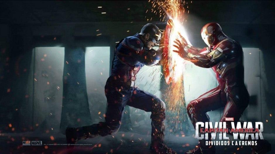 Capitán América vs Iron Man