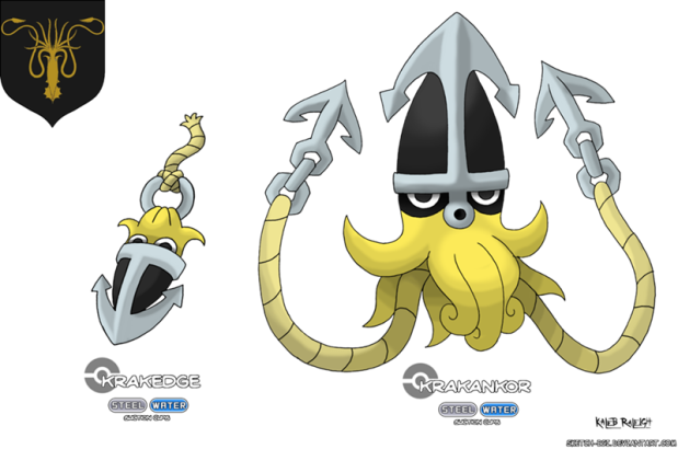 Pokemon . Greyjoy