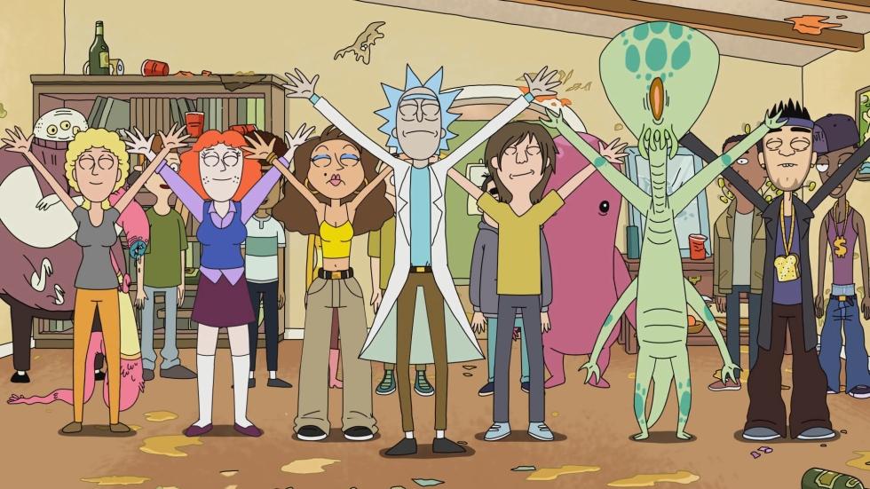 Rick y Morty en Netflix