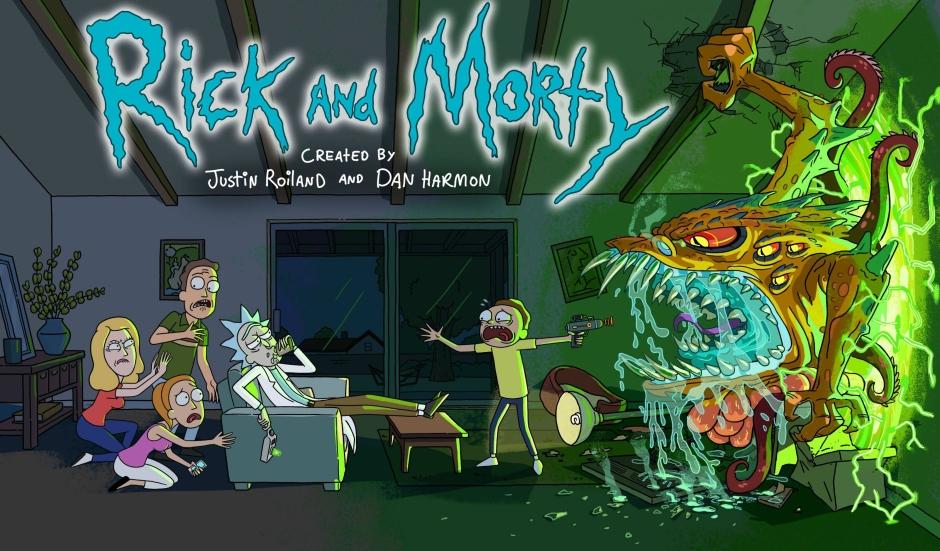 Rick and Morty en Netflix