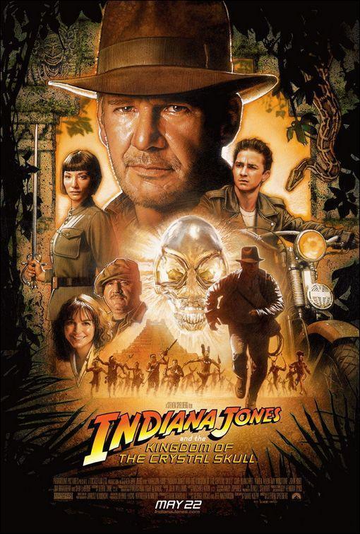 PÓSTER: Indiana Jones y el reino de la calavera de cristal
