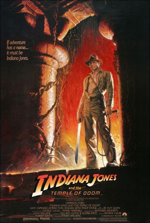 PÓSTER: Indiana Jones y el templo de la perdición
