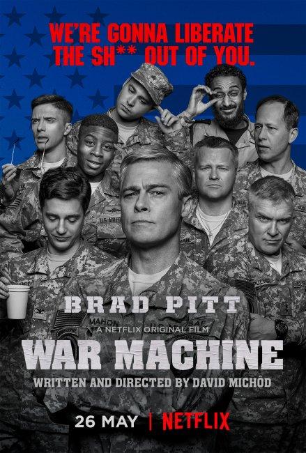 POSTER: War Machine