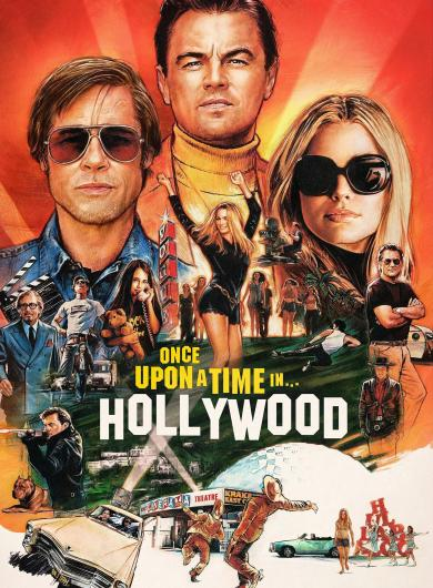 reseña-once-upon-time-hollywood-poster