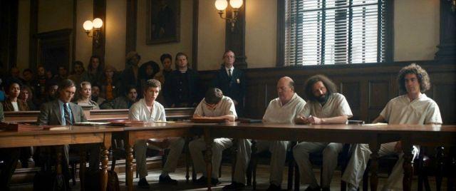 Imagen del juicio de los siete de chicago