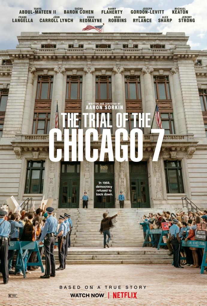 Poster de la película El Juicio de los 7 de Chicago